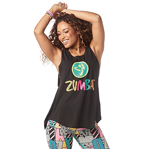 Zumba Workout Cross Back Sexy Tank Tops for Women Graphic Print Open Back Tops