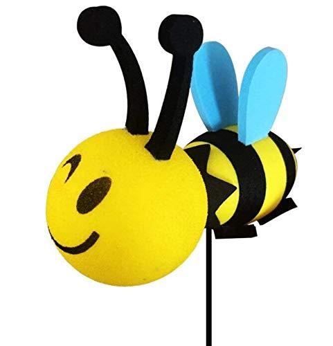 HSDDA Glücklicher Bienen-Auto-Antennen-Deckel-Honig-Hummel-Luftball - Antennen-Ball