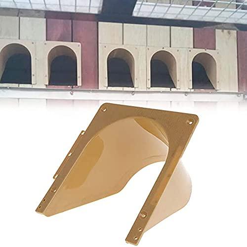 JIEIIFAFH Puerta de Entrada para Palomas Exportación Gratuita Jaula para pájaros de plástico Suministros para Carreras de Palomas 5 Unids/Set