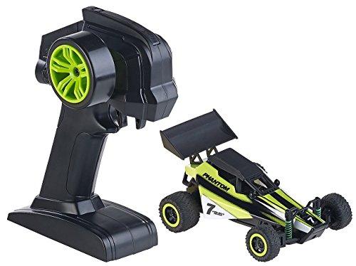 Simulus Mini RC Cars: Ferngesteuerter Mini-Buggy Phantom, 2,4-GHz-Funk, 20 km/h (Miniflitzer)
