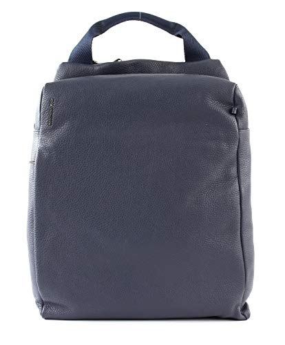 Mandarina Duck Mellow Leather Backpack Dress Blue