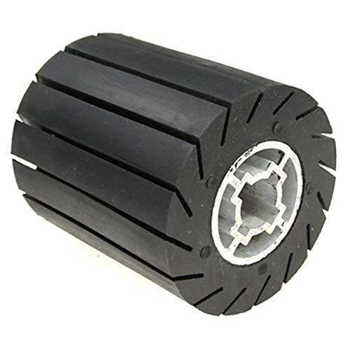 GFHDGTH 90 * 100 mm rubberen metalen polijstset, expander draaiwiel/schuurhoezen/adapter voor haakse slijpers, Wiel.