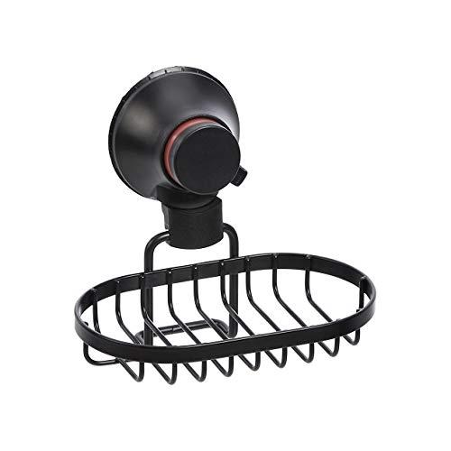 AmazonBasics - Jabonera para ducha con ventosa