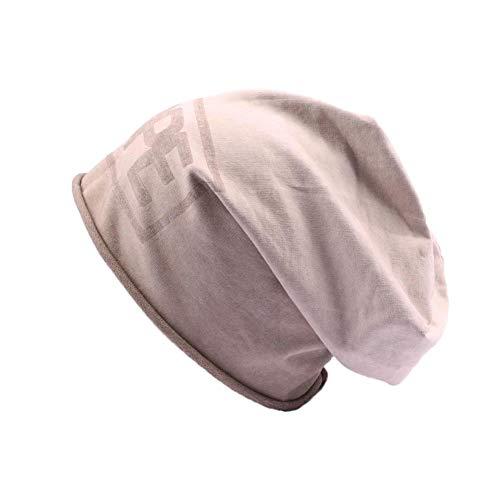 JBB COUTURE Bonnet Oversize Dope Marron - Mixte