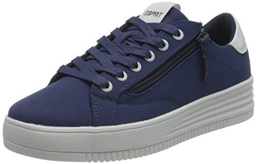 ESPRIT 031EK1W303, Zapatillas Mujer, 405 Azul Oscuro, 40 EU