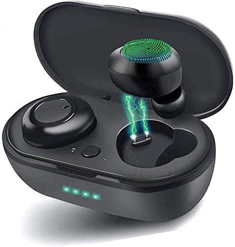Waterproof Bluetooth 5.0 True Wireless Earbuds, Touch...