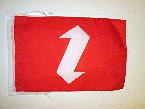 AZ FLAG Bandiera Zaza di Turchia 45x30cm - BANDIERINA dei Zaza 30 x 45 cm cordicelle