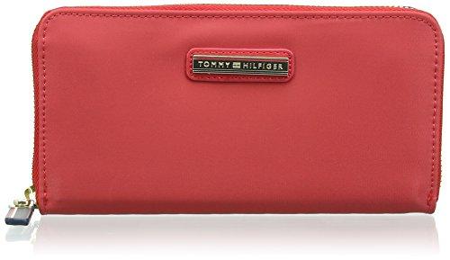 Tommy Hilfiger Poppy Large Z/A Wallet, Borse Donna, Lipstick, OS