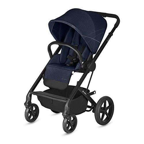 CYBEX Gold Passeggino Balios S, Seduta Comfort Reversibile, Dalla Nascita fino a 17 kg, Collezione 2019, Denim Blue