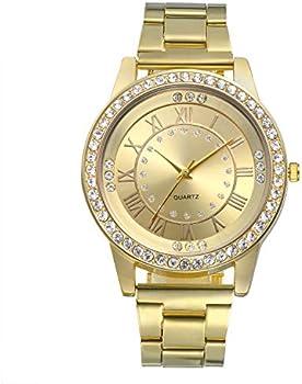 Lancardo Luxury Gold Tone Stainless Steel Men's Wrist Watch