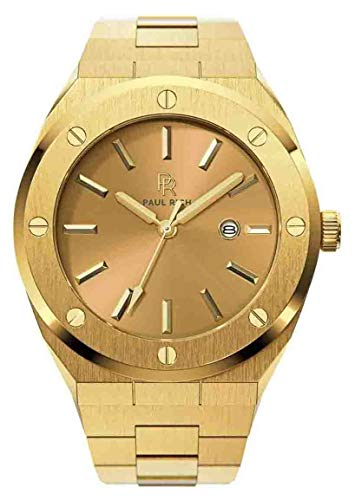 Paul Rich Signature Midas Touch Staal PR68AGS horloge 45 mm