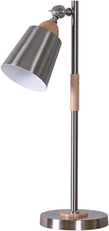 Tischlampe Xiuyun Eisen Schlafzimmer Schlafzimmer Schlafzimmer Schlafsaal (Farbe   Silber, größe   59  18cm) B07K15NM15 | Erschwinglich  03778f