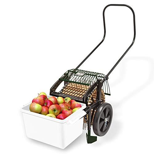 Roll in Obstsammler ohne Bücken auflesen Apfelsammler,large Fallobstsammler