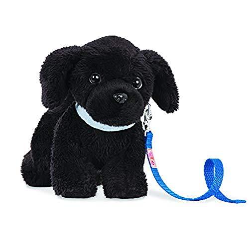 """Our Generation BD37800Z 6"""" Poseable Newfoundland Pup Puppenzubehör, schwarz"""