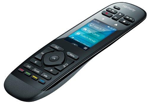 Logitech Harmony Ultimate One - Mando a distancia (Audio, DVD/Blu-ray, DVR, Consola de juegos, Sistema de cine en casa, Proyector, TV, IR inalámbrico, Pantalla táctil/Botones de presión, Pantalla incorporada, Recargable, Negro)