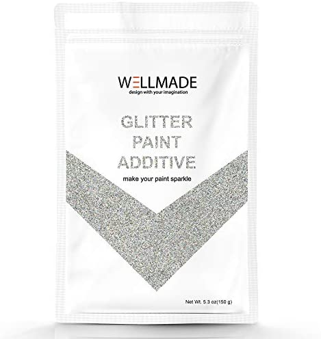 Glitter Paint Additive for Paint 150g 5 3oz 1PC Free Buffing PAD Wall Interior Exterior Ceiling product image