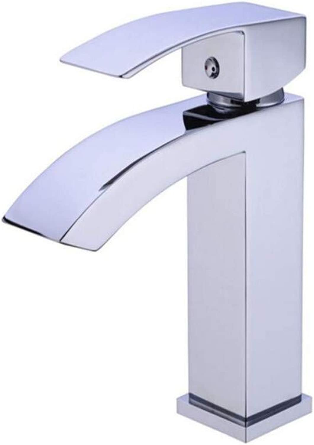 Faucet Lead-Free Square Innovationfaucet Deck Mounted Single Hole Single Handle Mixer