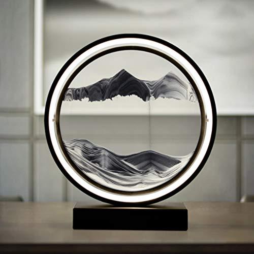 SMEJS Lámpara de mesa ligera dormitorio principal mesa de noche creativa estilo nórdico moderno minimalista sala de estar cálida personalidad decoración del hogar