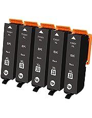 Ouguan inktpatronen voor Epson 33 33XL voor gebruik in Epson Expression Premium XP-530 XP-630 XP-830 XP-635 XP-640 XP-645 XP-540 XP-900 printer