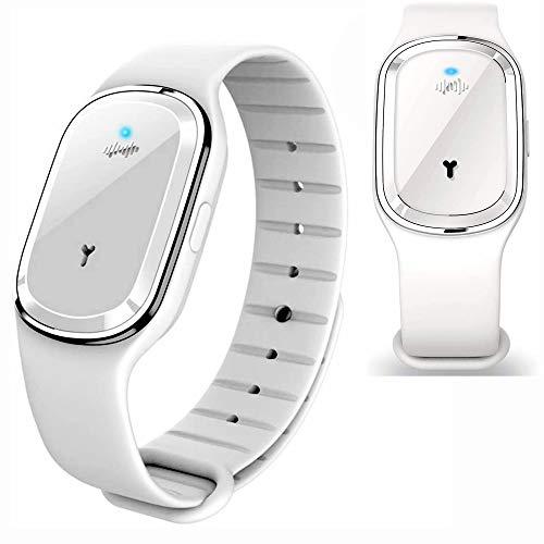 Memories, bracelet anti-moustiques ultrasoniques, répulsif à moustiques réglable, charge USB. Enfants et adultes.