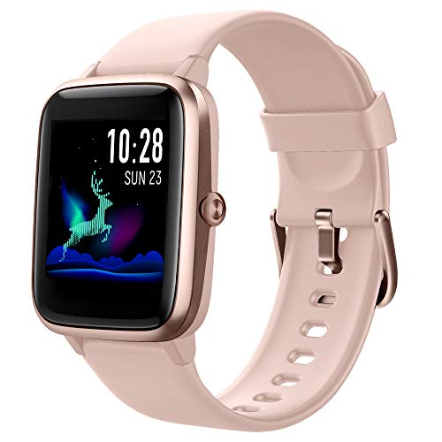 Smartwatch Donna Orologio Fitness Cardiofrequenzimetro Sonno da Polso Contapassi Calorie Salute Femminile Fitness Tracker GPS Condiviso Impermeabile Notifica Messaggio Regalo per Lei