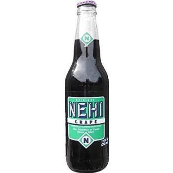 Nehi Grape Soda 12 Ounce  12 Glass Bottles