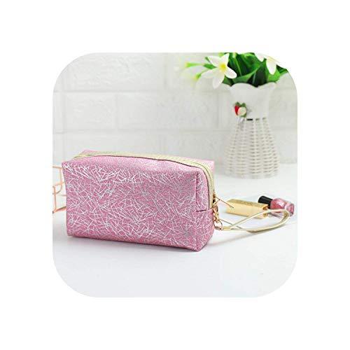 ZWWZ Cosmetic Bag Purse große Kapazitäts-Streifen Kosmetische Beutel Frauen Reise-Wash-Speicher-Beutel-Multifunktions Organizer-Verfassungs-Fall Schönheit Toile HAIKE (Color : 3, Size : Size)