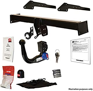MCLP Detachable Vertical Towbar with Electric Kit 7Pin for BMW X5 2007-2013 E70