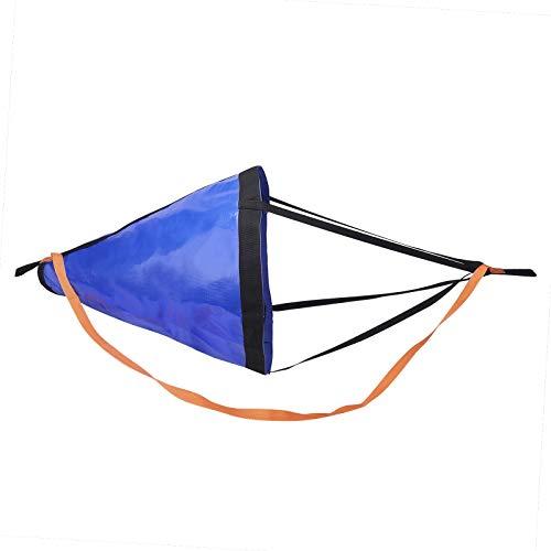 Drift Sock, Ocean Anglers Fishing Drogue for Boat/Kayak/Pontoon (18in)