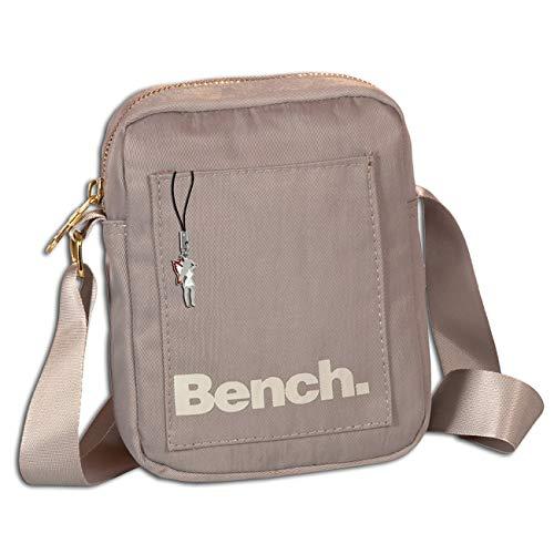 Bench OTI304K - Bolso bandolera (nailon, 14 x 19 x 5 cm), color gris