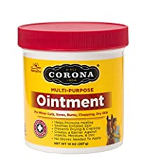 PROMOTES NATURAL HEALING: Corona Ointment promotes the natural healing of minor cuts, sores, burns, chapping, and dry skin LANOLIN-BASED FORMULA: Thick, lanolin-based formula helps soothe irritated skin and prevents drying and cracking CONTINUOUS WOU...