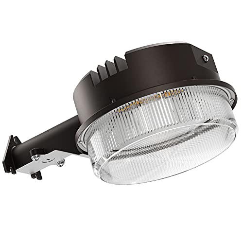 Bbounder - 70W 9800LM LED Barn Lights Dusk to Dawn Outdoor Area Lights with Photocell (700W Incandescent Equiv.) 5000K Daylight Waterproof ETL&DLC Listed for Yard Street Flood Lights