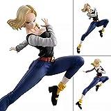 SSBB Dragon Ball Cuarta Generación De Caracteres Androide 18 Edición Batalla De Animación Modelo Figura De Acción De La Estatua Decoración 20CM -Elfos Animados
