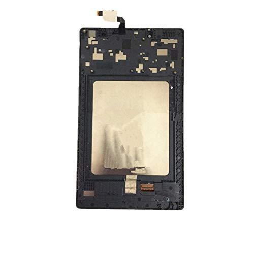 Ersatzbildschirm für Lenovo Tab3 Tb3-850 Tb3-850F Tb3-850M LCD Display Digitizer Touchscreen Objektiv Montage mit Rahmen Reparaturset Ersatzbildschirm