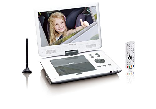 Lenco Tragbarer DVD-Player DVP-1063WH 25,4 cm (10...