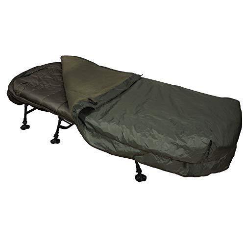 Sonik Thermal Bed Cover - Manta térmica para pescadores de carpas, impermeable, para tumbona de pesca, manta de verano para pescadores