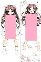 抱き枕カバー Dakimakura 等身 両面プリント ピーチスキン Peach skinファスナー付 50×150cm Pillow cases sm1262