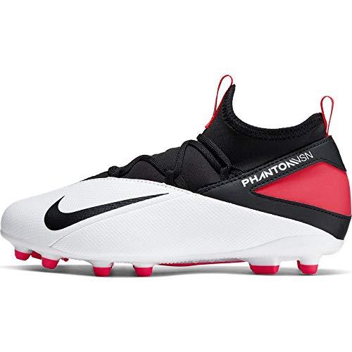 Nike Junior Phantom Vision 2 Club FG/MG Soccer Cleats (Numeric_3_Point_5)