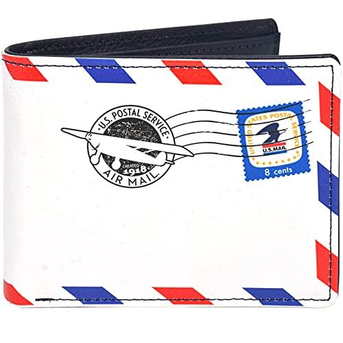 Concept One USPS U.S Mail Bifold Wallet in dekorativer Blechdose, Mehrfarbig