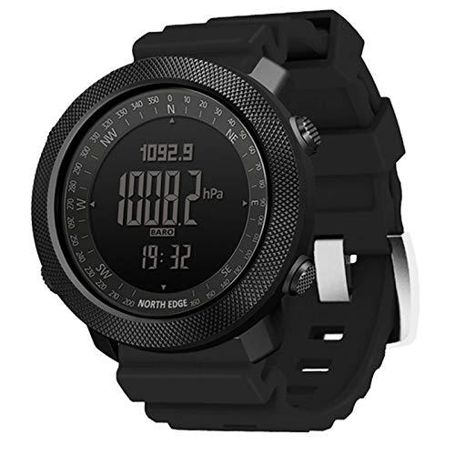 Reloj Digital De Los Hombres A Prueba De Agua 50 M Compás Altímetro Barómetro Apache 3 Deportes Militar Reloj Inteligente,D