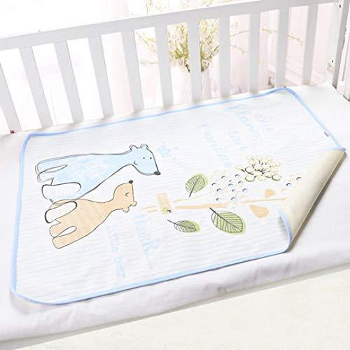 GESS Baby waterdicht ademend urine pad, indoor baby bed katoen matras - 50 x 70cm