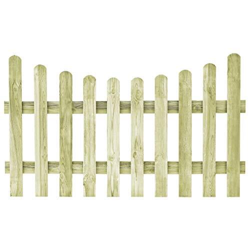 Ghuanton hek van geïmpregneerd grenenhout FSC 170 x 100 cm knutselen tuinhek tuindeuren