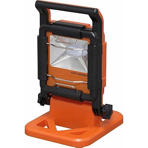アイリスオーヤマ LED ワークライト投光器 作業灯 防雨型 置き型 ベースライト 500lm LWT-500BA
