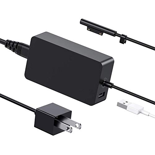 [Latest 2020] Surface Pro Charger 65W, Compatible with Surface Pro 3/4/5/6/7 Power Supply Adapter, Compatible for Both Microsoft Surface Book Laptop/Tablet, Works with 65W&44W&36W&24W