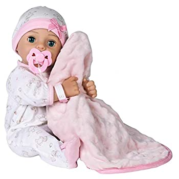 Adora Adoption Baby Hope - 16 inch Realistic Newborn Baby Doll with Doll Accessories and Certificate of Adoption