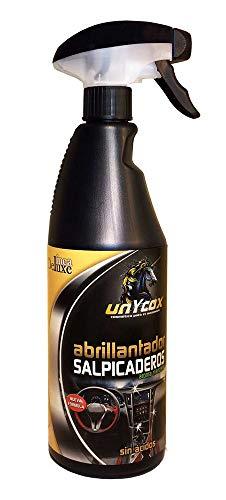Unycox UNYCQ Abrillantador de Salpicaderos Gama Deluxe, Bote Negro, 750 ml