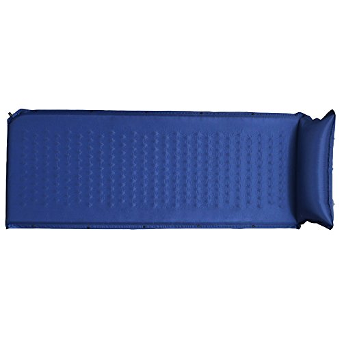 アイリスプラザ 車中泊 防災グッズ マットレス コンパクト レジャー 災害グッズ 丸めて 寝袋 厚3cm 長180cm ブルー