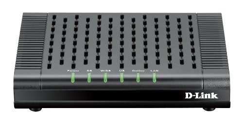 D-Link DOCSIS 3.0 Cable Modem (DCM-301) Compatible with Comcast Xfinity, Time Warner Cable, Charter,...