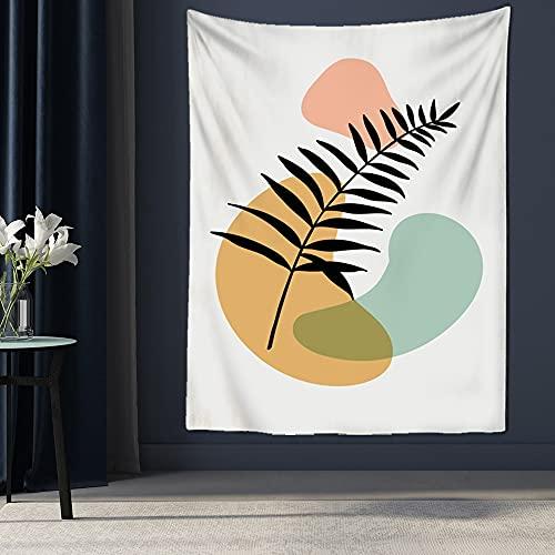 QAWD Tapiz de Paisaje Creativo Divertido Monte Fuji Tela de Fondo Paisaje Moderno decoración del hogar Manta de Tela de Fondo A3 180x200cm