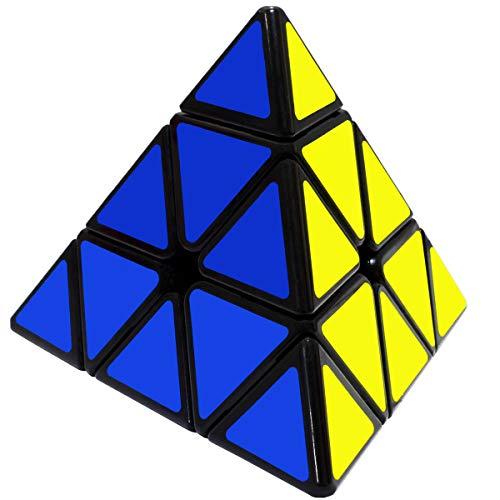 Maomaoyu Piramide Cubo 3x3 3x3x3 Pyraminx Speed Cube Nios Juguetes Educativos Negro